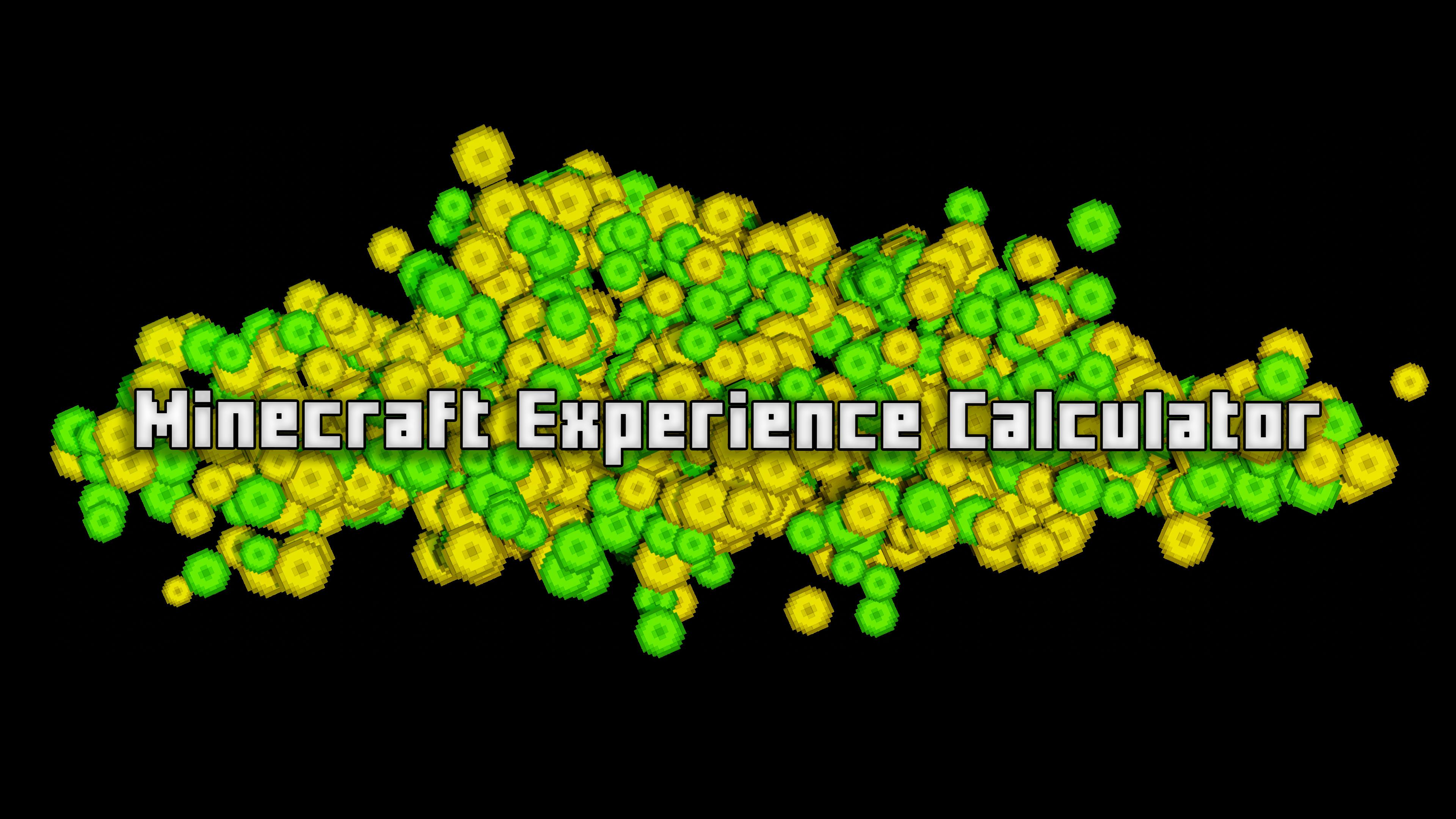 Minecraft Xp Calculator